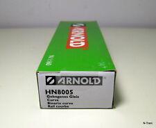 Arnold N HN8005 - Confezione con 10 binari curvi da 45°, raggio R1=192 mm.