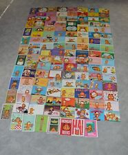 129 Different Garfield Vintage Postcards Huge Lot