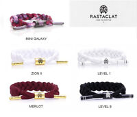 Brand New Rastaclat Men's Braided shoelace Bracelet 5 Colors