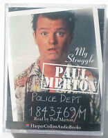 PAUL MERTON.MY STRUGGLE.READ PAUL MERTON.2 CASSETTE.3 HRS NEW SEALED