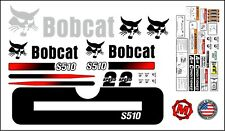 S510 replacement premium decal kit sticker set with warning decals fits bobcat