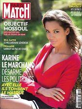 PARIS MATCH N°3519 27/10/2016  LE MARCHAND/ DRUCKER/ FRONT EN IRAK/ VENDEE GLOBE