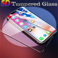 5D Full Cover Tempered Glass Screen Guard Protector Film For Apple iPhone XS MAX