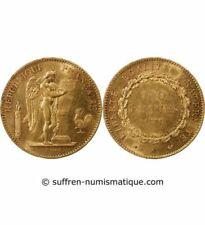 Pièces de monnaie françaises de 100 francs 100 Francs, sur génie