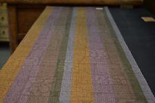 Japanese Woollen Fabric Purple, Green, and Blue Design 1256