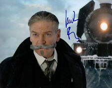 KENNETH BRANAGH.. as Hercule Poirot (Murder On The Orient Express) SIGNED