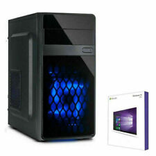 4 CORE PC INTEL i3 10100 @4,3GHz 8-32GB DDR4 SSD+HDD Win10 Multimedia Computer