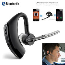Wireless Bluetooth Stereo Noise Canceling Headset Headphone For Car Truck Driver