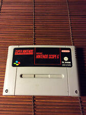 ORIGINAL NINTENDO GAME.NINTENDO SCOPE 6.SUPER NINTENDO.SNES