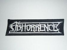 ABHORRENCE DEATH METAL EMBROIDERED PATCH