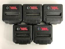 Lot of 5 O'Neil Mf4t Swivel Pos Printer