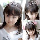 Rhinestone Crystal Tiara Hair Band Pretty Girl Princess Prom Crown Headband