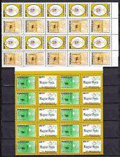 10 x Ungarn 1992 Mi. 4210-11 ** Tag der Briefmarke EUROFILEX