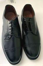 Allen Edmonds Benton Sz 9 D Black Dress Shoes Leather