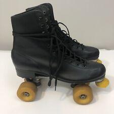 Vintage Roller Skates Mens Black Size 11