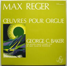 LP George BAKER / Max Reger Organ works / Fy 024 Mint-