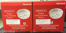"Brand New ""2""  Honeywell 5800CO Wireless Carbon Monoxide Detector, CO, Exp:2023"