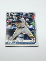 2019 Topps Series 1 Ronald Acuna Jr. All-Star Rookie Gold Cup Atlanta Braves
