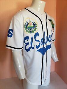 Camisa de El Salvador  WHITE WITH TOROGOZ