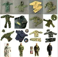"1:6 21st Century Toys Ultimate Soldier WWII Uniform For 12"" GI Joe Dragon Figure"