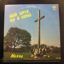 Manna - God Gave Us A Song LP VG+ LPS 413 IL Private Christian Vinyl Record