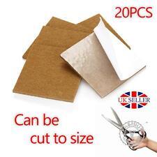 Oak Wood Protection Laminate Floor Furniture Protectors Felt Pads Vinyl x 20