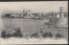 France Postcard - Marseilie - Le Fort Saint Jean  B1147