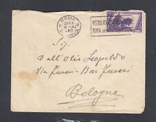 Italy 1933 Colonial Ministry Cover & Contents Rome To Bologna