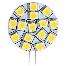 HQRP Warm White G4 5050 SMD 15 LED Marine Cabinet Camper Light Lamp Bulb 12V