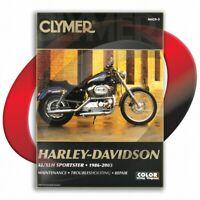 1986-1987 Harley Davidson Sportster XLH1100 Repair Manual Clymer M429-5 Service