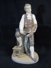 "Retired Lladro Porcelain Large Figurine ""Artistic Endeavor"" man painter~ Spain"