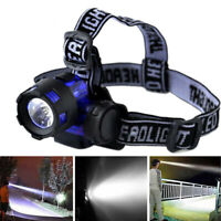 20000 Lumens Tactical LED Headlamp Headlight Flashlight Head Light Lamp Torch