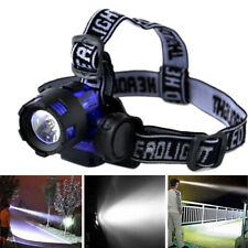 20000 Lumens Tactical LED Headlamp Headlight Flashlight Head Light Lamp Torch UK