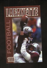 Lafayette Leopards--1999 Football Pocket Schedule--WEST/Express-Times