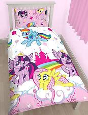 Petit Lit My Little Pony Equestrian Set Housse De Couette Licorne Arc-en-ciel