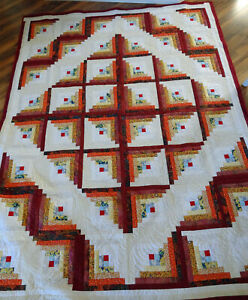 Autumn Color Queen Quilt