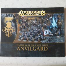 ANVILGARD NOTICE ASSEMBLAGE BOOKLET INSTRUCTIONS RULES WARHAMMER AGE OF SIGMAR