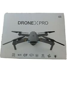 Drone X PRO 2.4G WiFi FPV With 720P HD Camera Foldable RC Quadcopter NIB Sealed