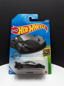 Hot Wheels 2020 ** McLaren P1 ** #149 HW Exotics 9/10 New Long Card