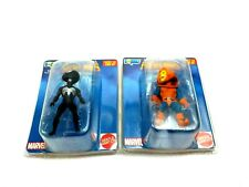 Marvel Super Heroes Secret Wars Micro Bobbles Lot Spider-Man (Black), HobGoblin
