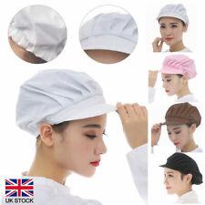 More details for cook unisex kitchen baker chef elastic hat dustproof cap catering full cloth