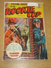 ROOKIE COP #33 VG+ (4.5) CHARLTON COMICS AUGUST 1957