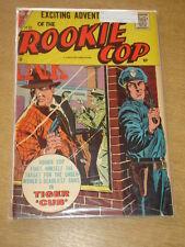 ROOKIE COP #33 VG+ (4.5) CHARLTON COMICS AUGUST 1957