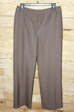 Nipon Boutique Brown Suit Pants Only Women's Size 6P NWT