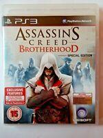 Assassin's Creed Brotherhood - Special Edition (PlayStation 3, PS3, Region Free)
