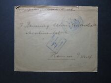 France WWI Special Army D'Avignon Stampless Cover / Creasing - Z11884