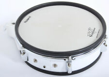 """Roland PD120 12"""" Electronic Snare Drum Dual Trigger Pad White Electric Kit"""
