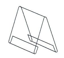 10x Dachaufsteller Preisaufsteller PVC GLASKLAR DIN A8 Querformat