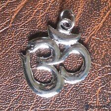 Om ANHÄNGER goa psy hippie elfen ying yang indien nepal Yoga trance BOHO pendant