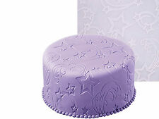 STAR POWER FONDANT ICING EMBOSSING MAT SUGARCRAFT UK SELLER